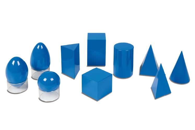 3 Boyutlu Nesneler, Montessori Duyu Araçları