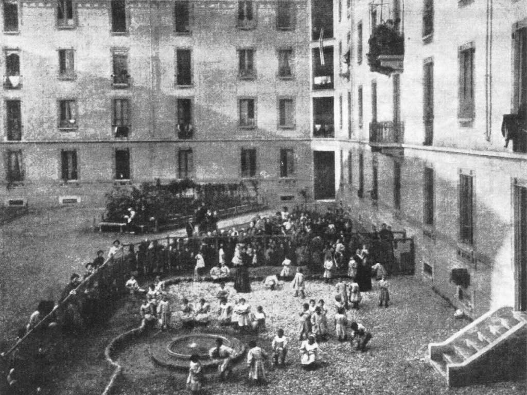 Casa dei Bambini Açılış Günü, 1907