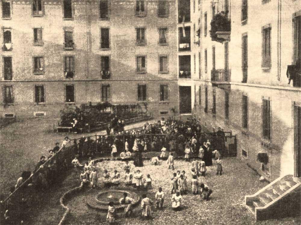 Casa Dei Bambini , 1907