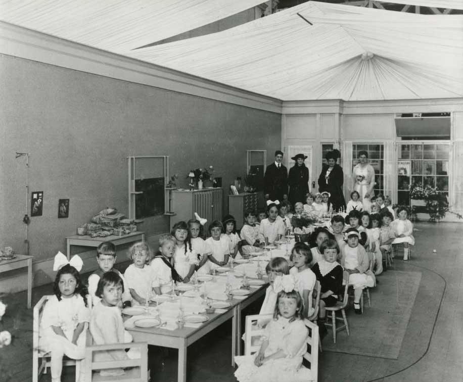 Cam Sınıf, Dünya Eğitim Fuarı, Panama-Pasifik Sergi Alanı, 1915
