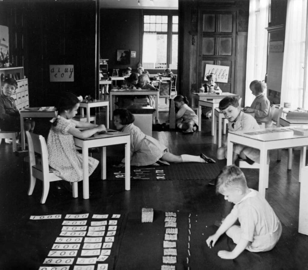 Bir Montessori Sınıfından, 1950'ler